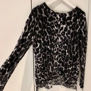 RACHEL ZOE sweater Animal Print